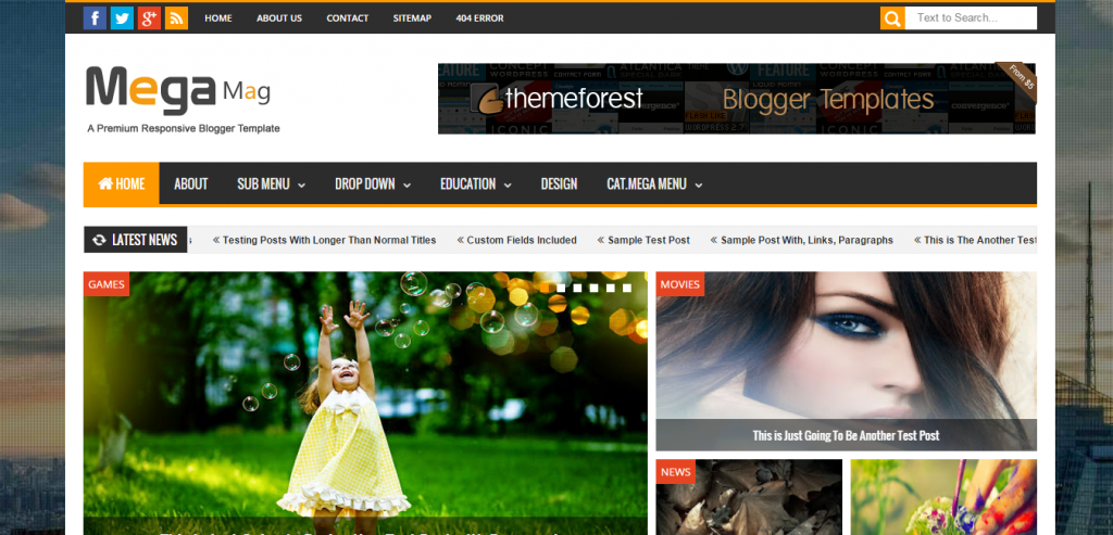 Buy Blogger Templates