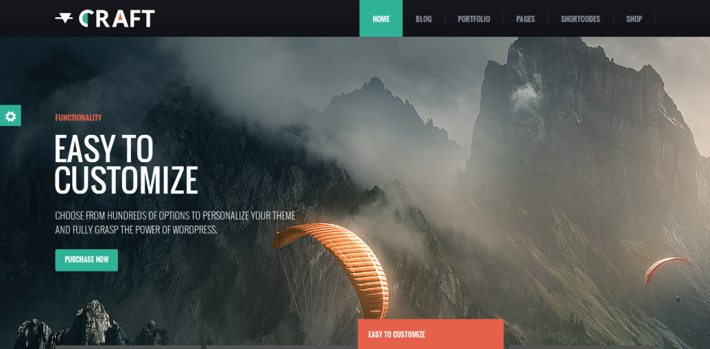 Craft Premium Portfolio Theme