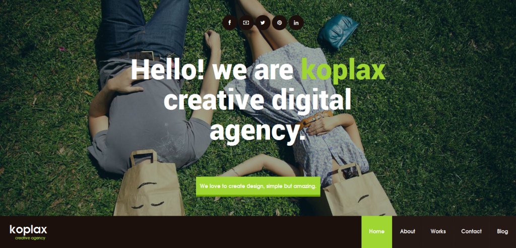 Creative Responsive WordPress