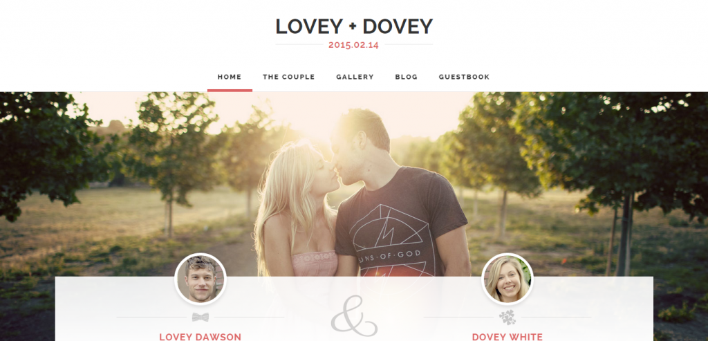 Fluid Wedding WordPress Themes