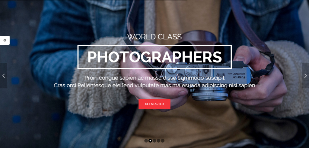 Free Creative WordPress Theme
