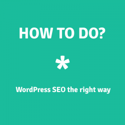 How to do WordPress SEO