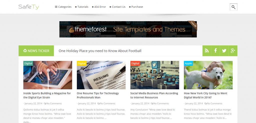 New Blogger Template