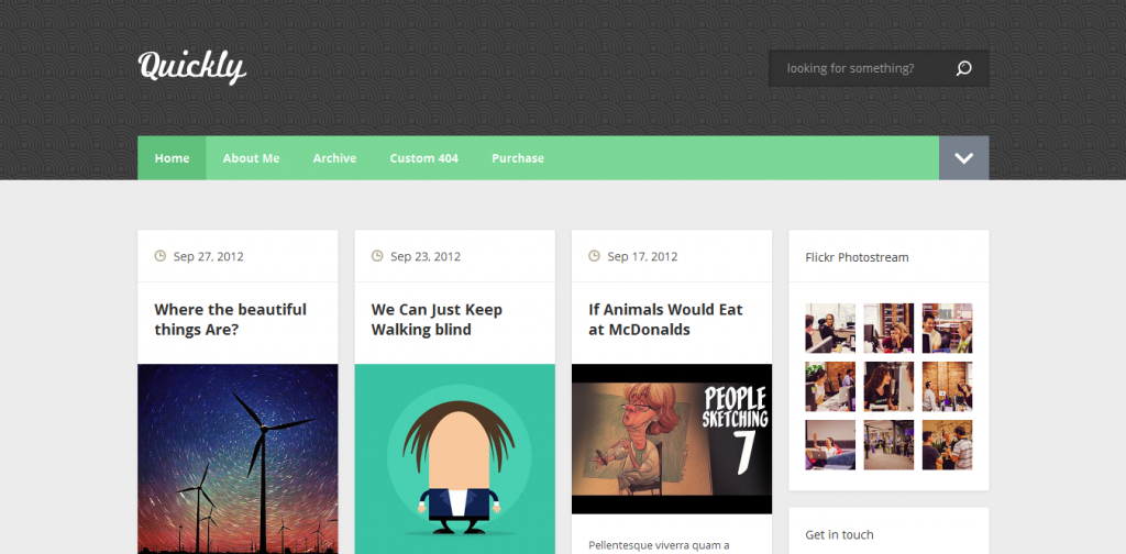 Pinterest Blogger Template