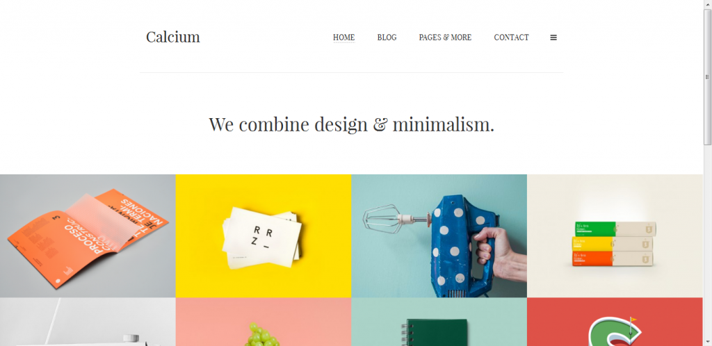 Portfolio & Blogging Theme