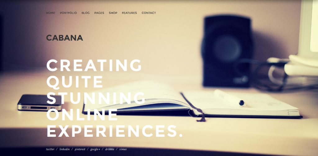 Premium Creative WordPress Theme