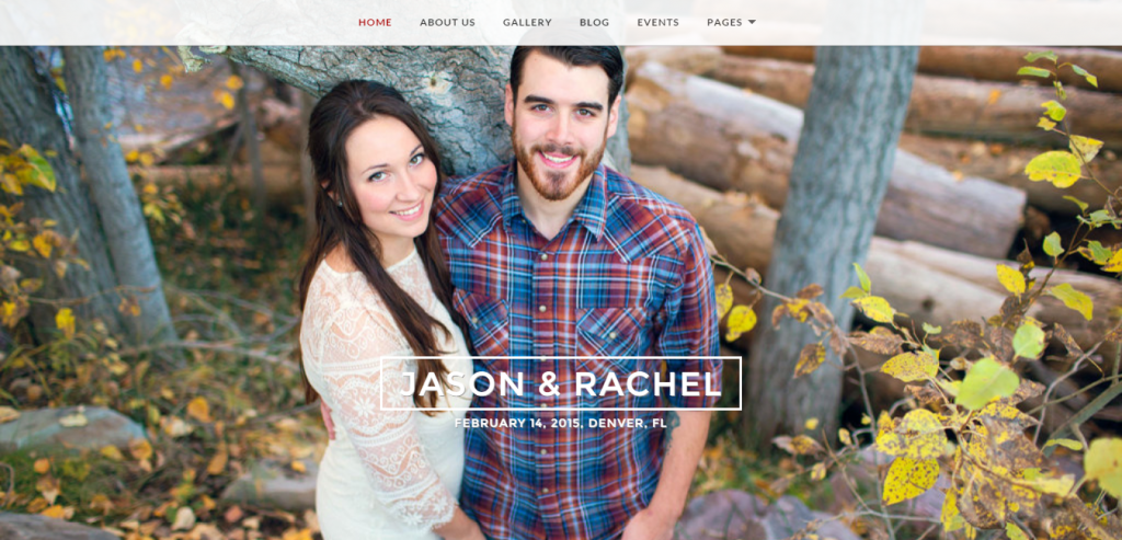 Responsive Wedding WordPress Themes