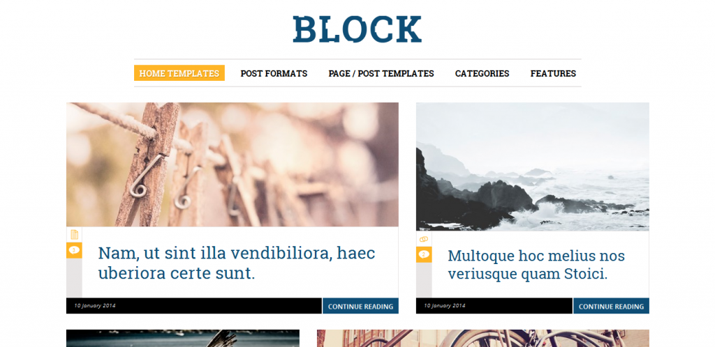 Responsive WordPress Blog Themes