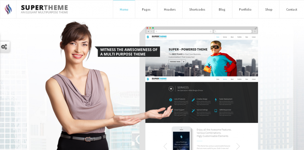 Super WordPress Theme