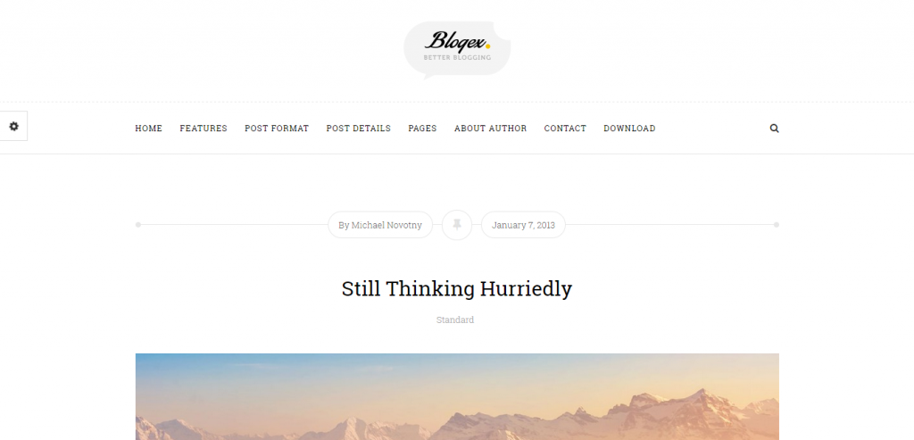 Top Personal Blogging WordPress Themes