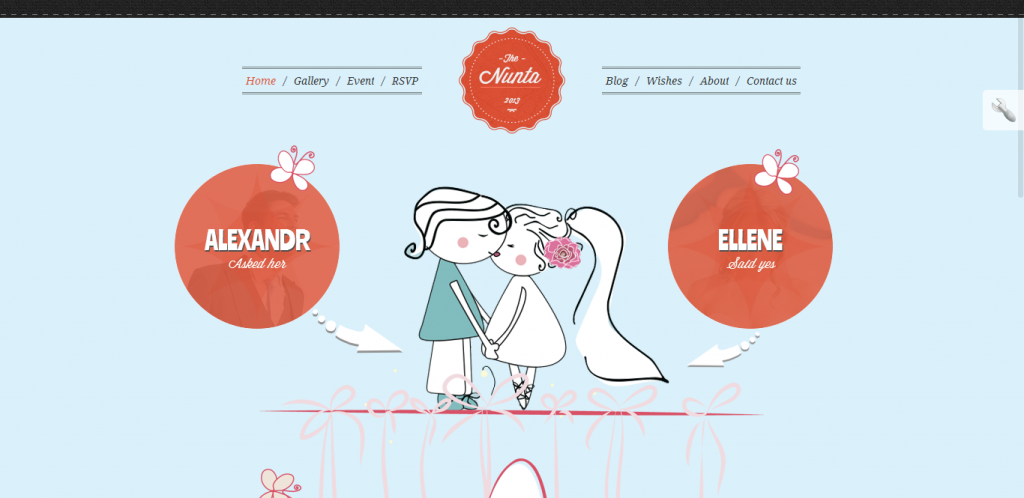Wedding Responsive WordPress Theme