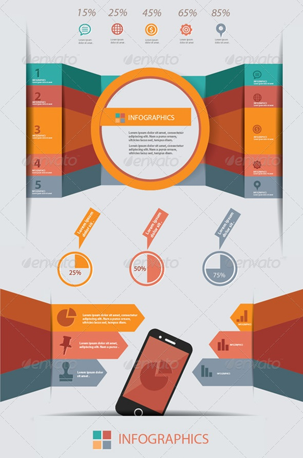 Best PSD Infographic Templates