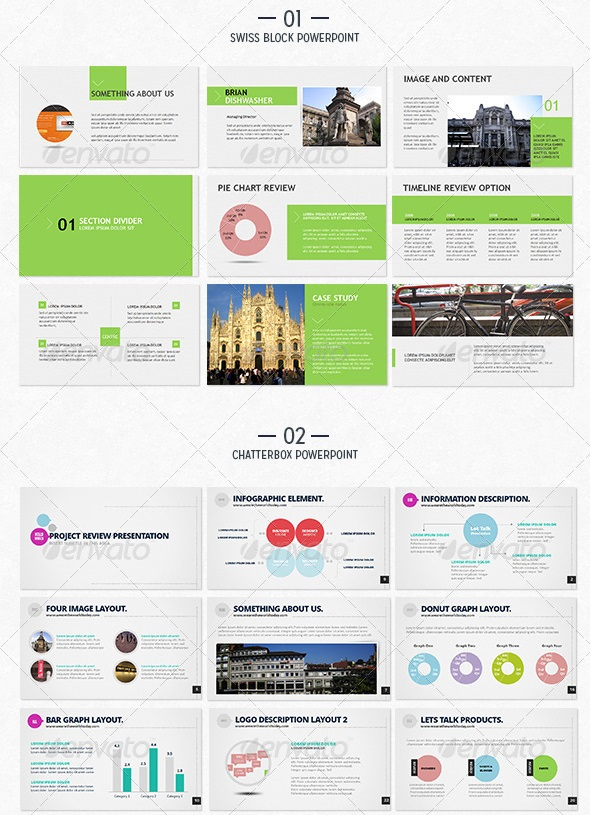 60 best premium powerpoint templates | weelii, Powerpoint templates