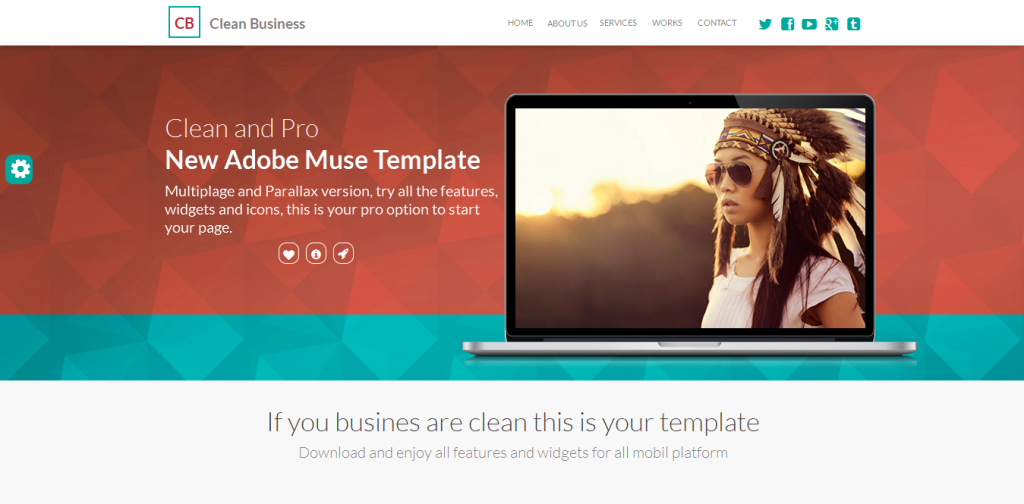 Business Adobe Muse Template