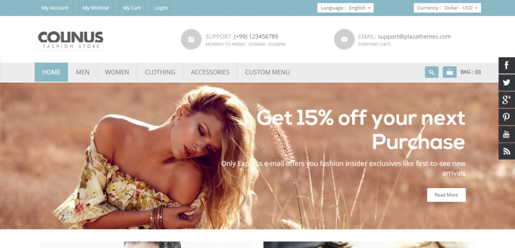 Buy eCommerce WordPress Templates