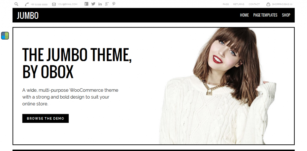 Buy eCommerce WordPress Theme