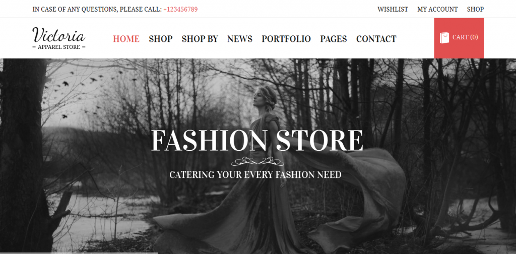 Clothes WordPress Themes