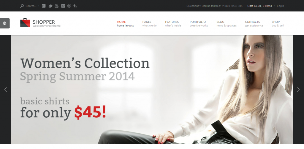 Commerce WordPress Theme