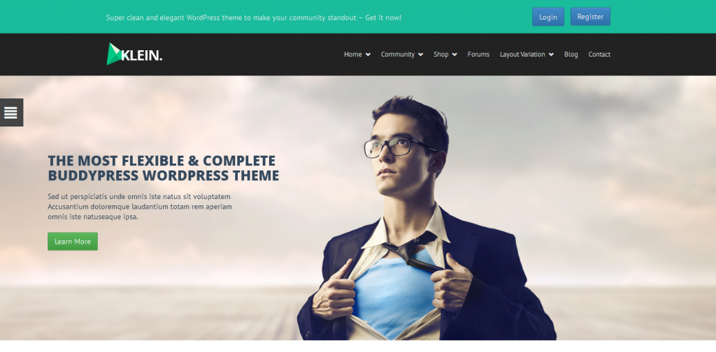Community WordPress Theme