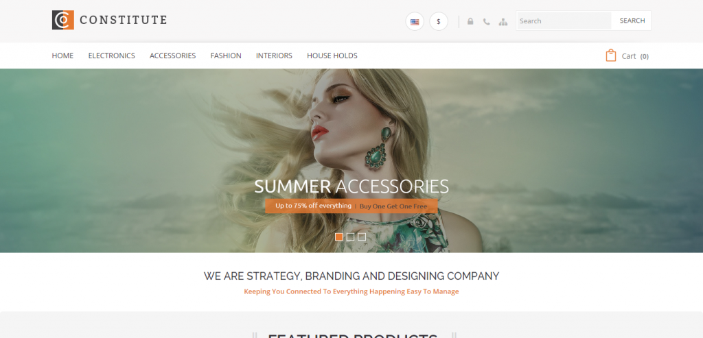 Downlaod eCommerce WordPress Templates