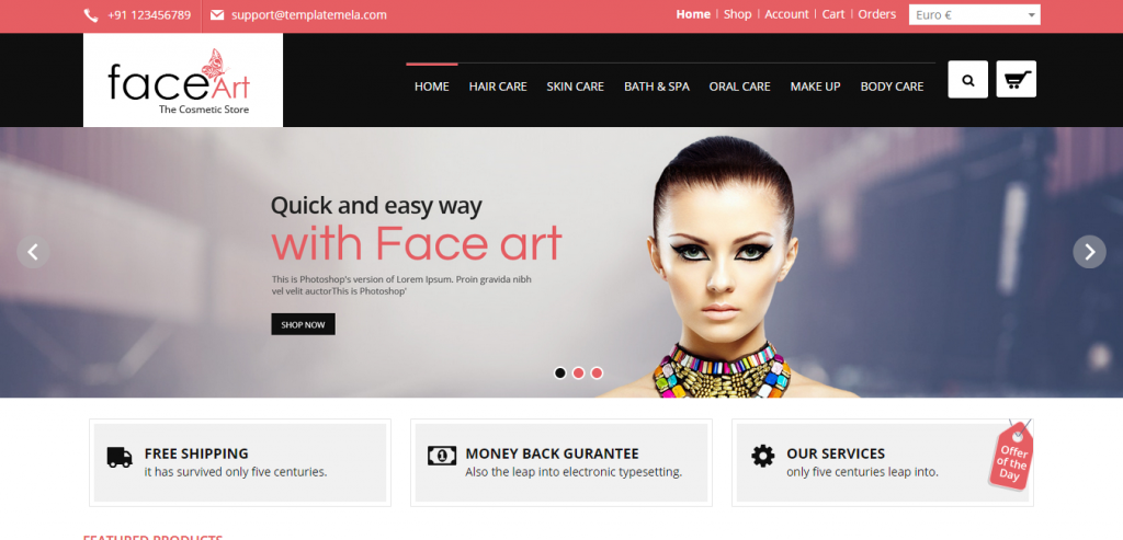 Download Joomla VirtueMart templates