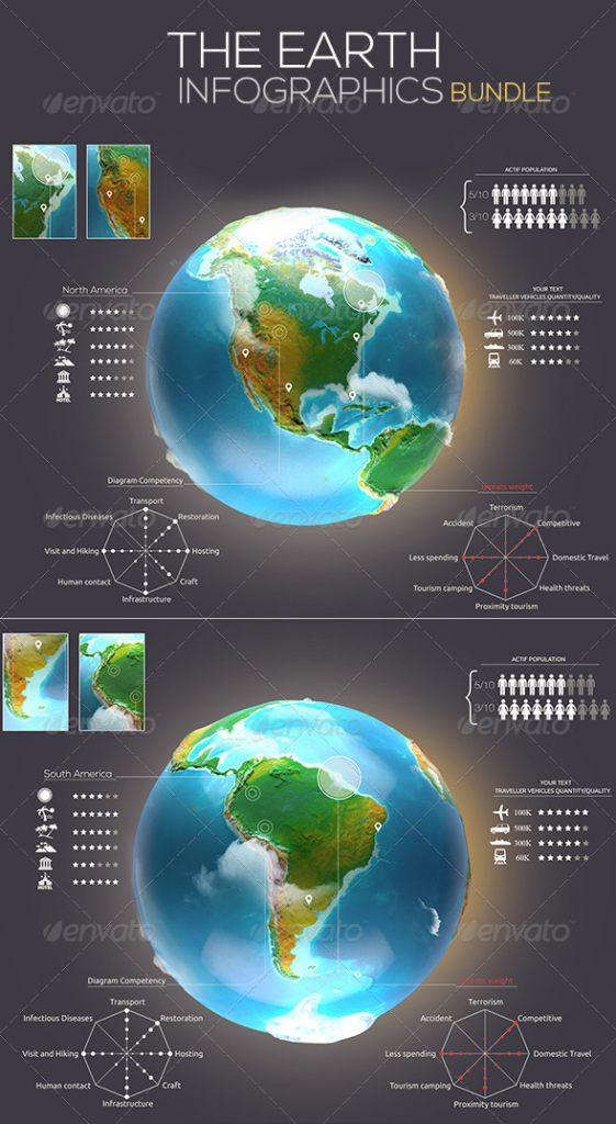 Download PSD Infographic Templates