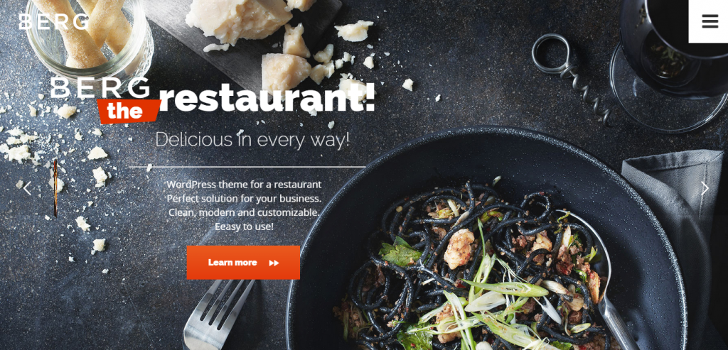 Download Restaurant WordPress Themes