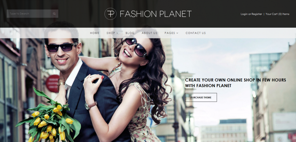 Fashion Shopify Theme