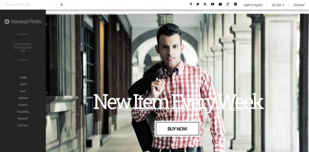 Fashion WooCommerce WordPress Theme