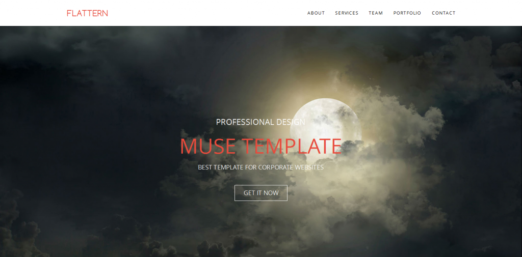 Flat Muse Template