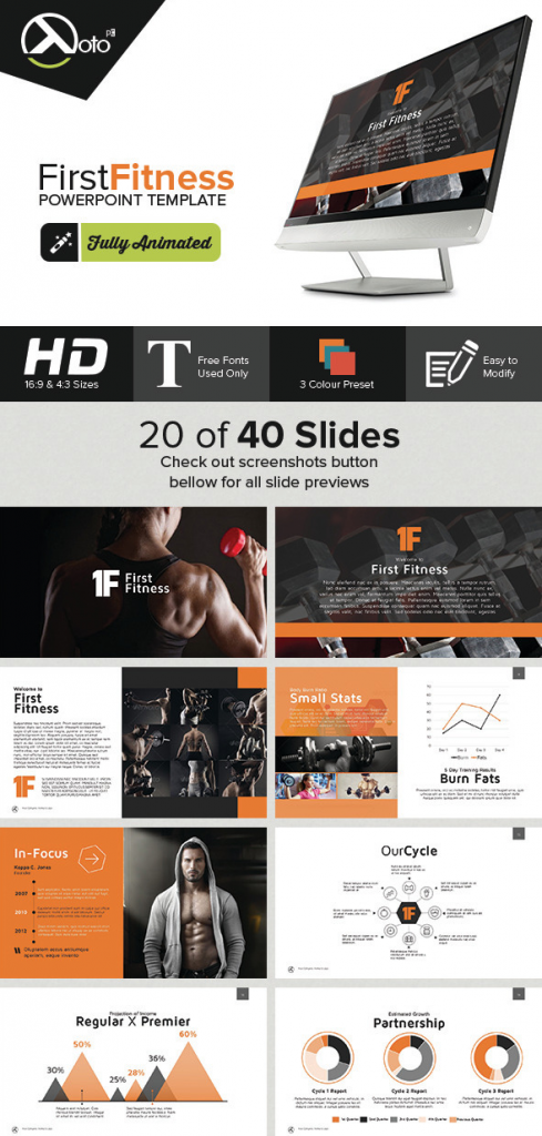 Fluid PowerPoint Templates