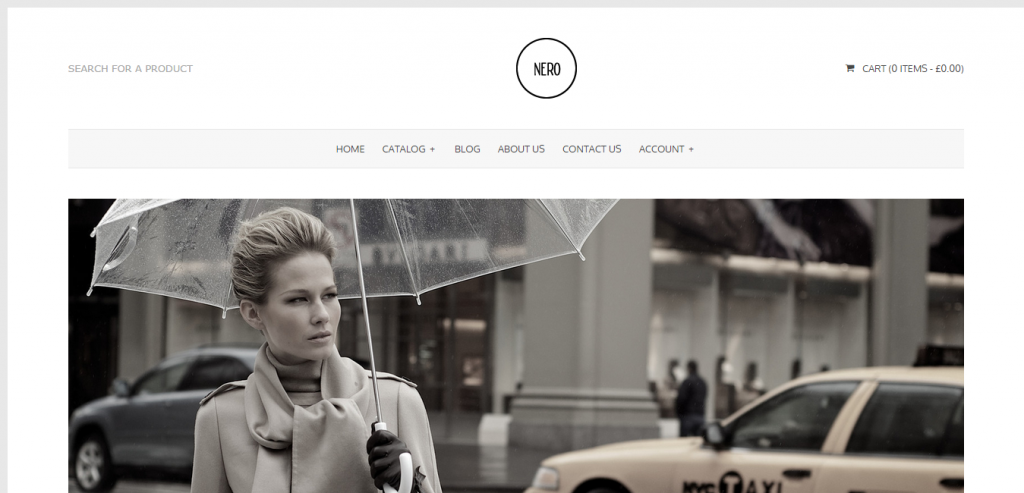 Fluid Shopify WordPress Themes