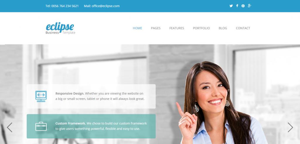 50 best business html templates weelii free business html templates friedricerecipe Choice Image