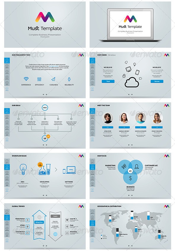 Keynote Business Template