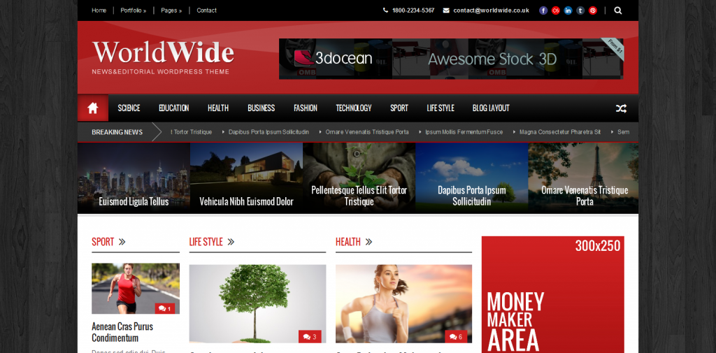 Magazine WP Theme