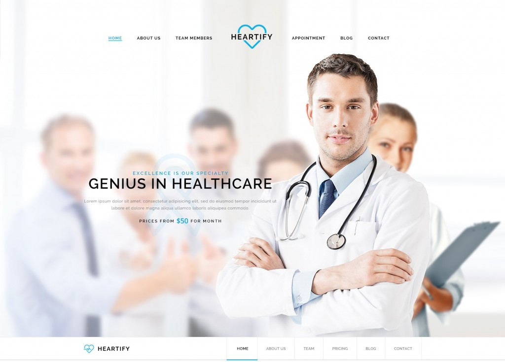 Medical PSD Templates