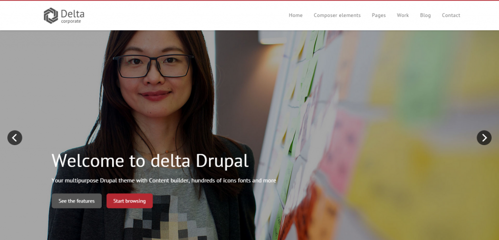 New Drupal CMS Templates