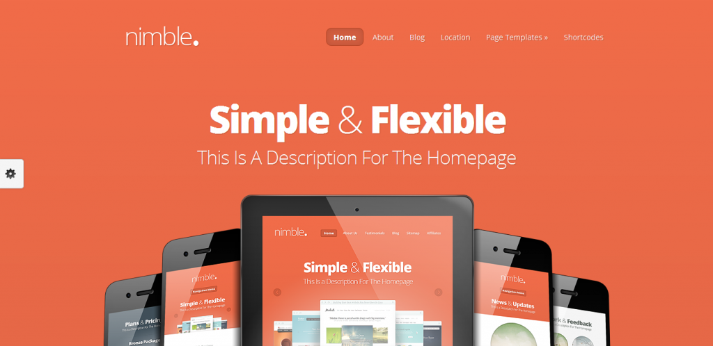 Nimble WordPress Theme