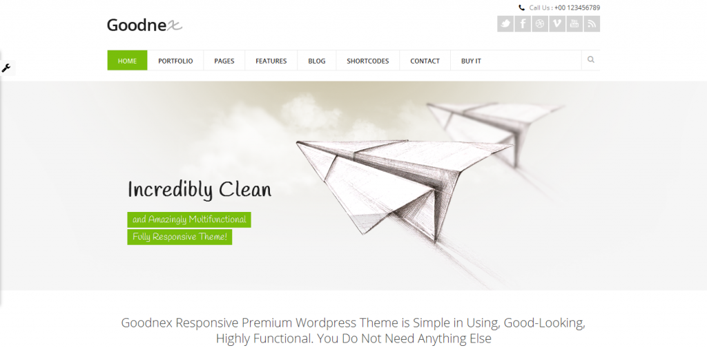 Premium Political WordPress Theme