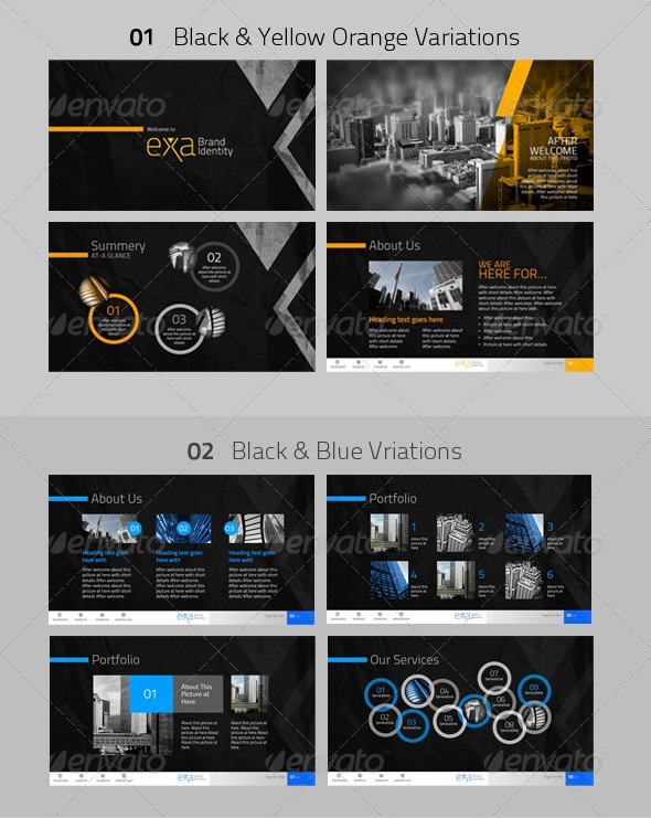 Premium PowerPoint Theme