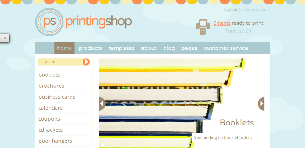 Printing Shop WordPress Theme
