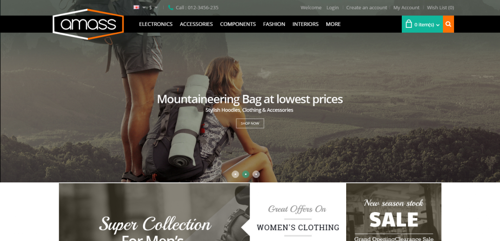 Responsive eCommerce WordPress Templates