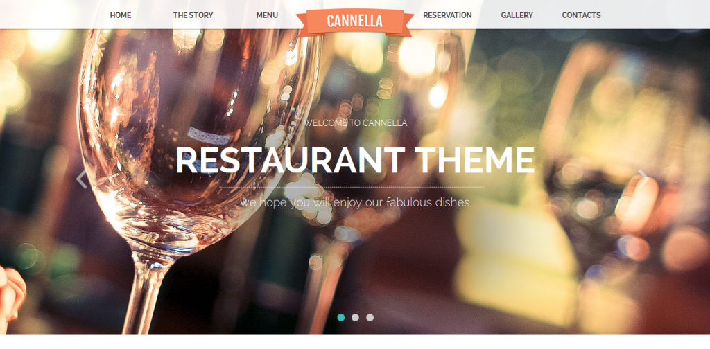 Restaurant Cafe Muse template