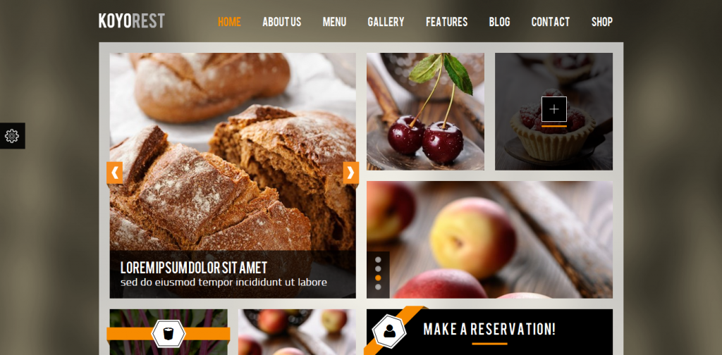 Retina Restaurant WP Theme