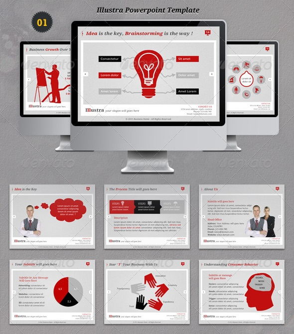 Start-up PowerPoint Template