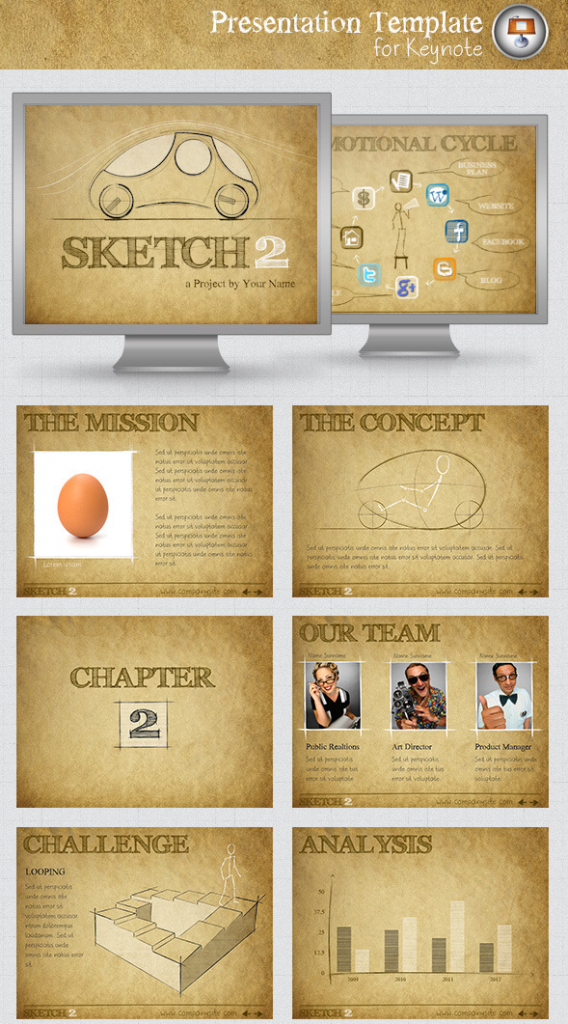 Top Keynote Templates