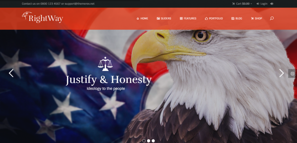 Top Politic WordPress Themes