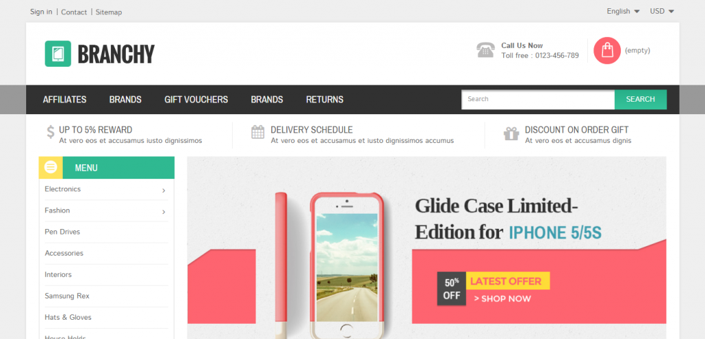 Top eCommerce WordPress Template