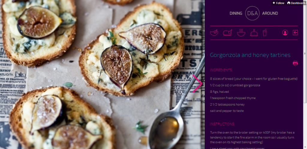 Tumblr Food Blog Theme