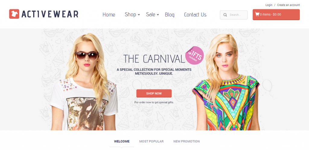 Wear Shopify Theme